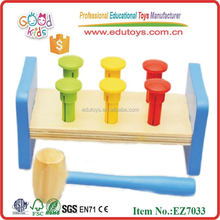 Stocked Children Practical Ability Hammer Game Cheap Wooden Toys