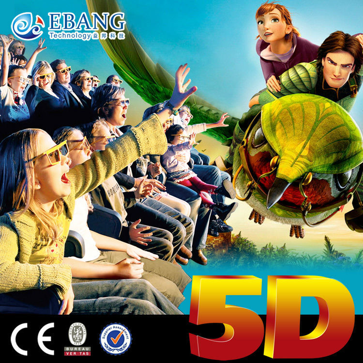 Ebang Commercial exciting 3d 4d 5d cartoon movie