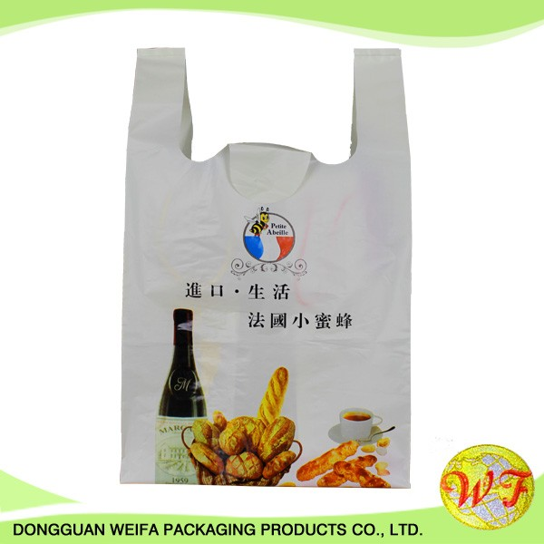HDPE and T Shirt Printed Poly Bags