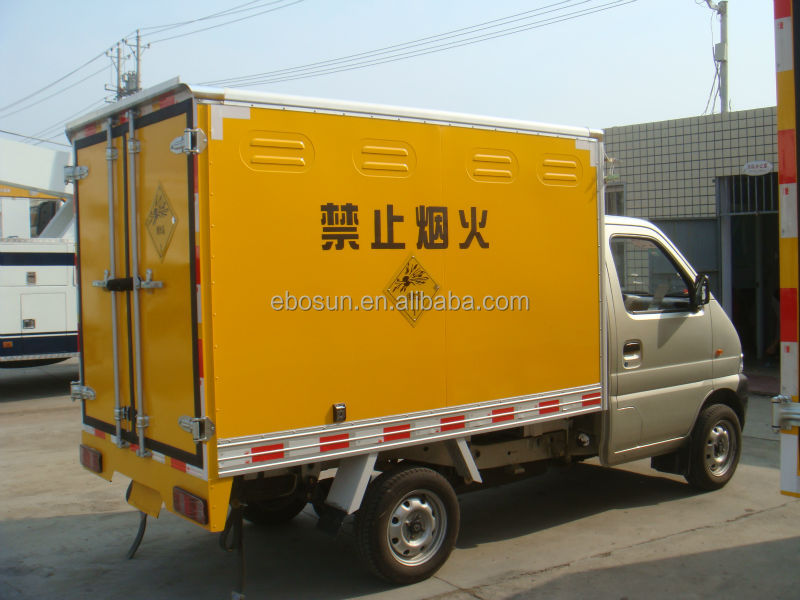 Changan dynamite truck/explosive truck for transporting blasting cap and blasting agent