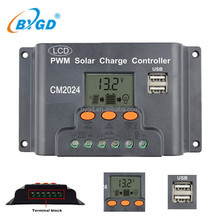 Instruction to Solar Charge Controller 20A LCD Display High Quality AC DC Hybrid Solar Charge Controllers