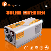 Best selling solar home system kit 3500va 24v dc to ac off grid solar pv inverter