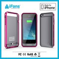 Cell Phone Case for iPhone 6 Battery Charger Case for Apple iPhone 6 Case