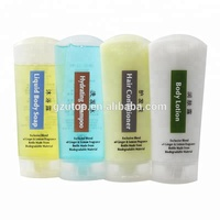 Factory direct 30ml square plastic bottle for shampoo lotion hotels