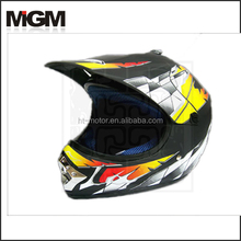 motorcycle helmet YELLOW ATV helmet