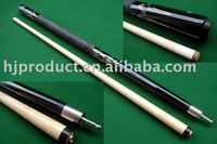 High quality but cheap price two-pc canada maple snooker billiard cue stick, pool que stick