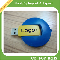 High quality chip swivel usb flash drive customized logo fast write speed flash memory disk quick read speed free sample u disk