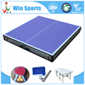 blue small size kids home tennis table folding