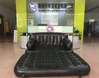 big size multi-function inflatable sofa bed living room furniture