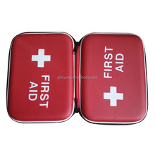 Wholesale Factory OEM Medical first aid kit/ Emergency small EVA bag, with PVC pocket