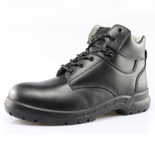 High ankle top layer leather anti static waterproof steel toe S3 safety shoes en 345