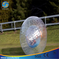 Kids grass land zorb ball for rental