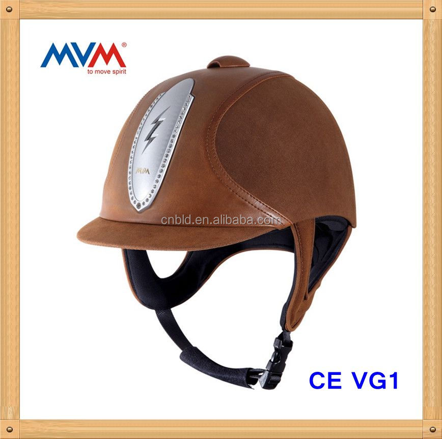 CE VG1 approved Fashional horseback sports helmet with Bling