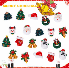 20-Pack Christmas 3D Fridge Magnets Christmas Ornaments Fridge Magnet Home Decoration Custom 3D Resin Fridge Magnets