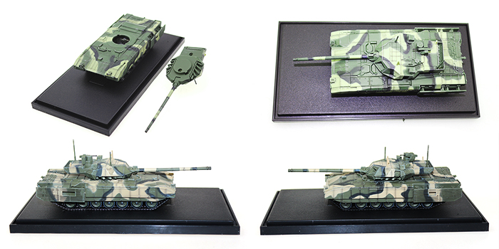 Hot sale 1:72 scale Panzerkampf brand Russian Army T-14 Armata diecast tank models for collection