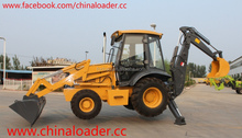 Chinese brand backhoe loader with CE certificate for sale