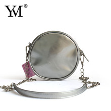 Newest cute round fashion bag with chain