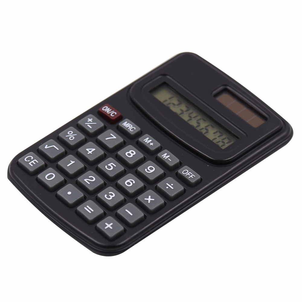 wholesale mini gifts electronic dual power 8 digits calculator