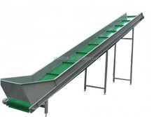 Plast Link Industrial adjustable customized waste paper meat processing incline conveyor