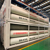 High quality seamless steel gas cylinder, CNG cylinder container,40 inch container