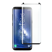 S8 3d fulll cover curved 0.4mm silicone TPU film for samsung galaxy s8 tempered glass screen protector