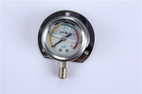 Hot sale products China easy to read 0-600 bar All stainless steel mini pressure gauge