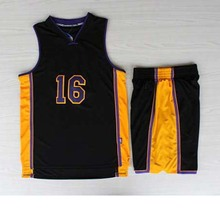 2016 new fashion Manufacturers basketball wear with individual design