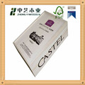 Caoxian plant sale used cuboid blank wooden wine box