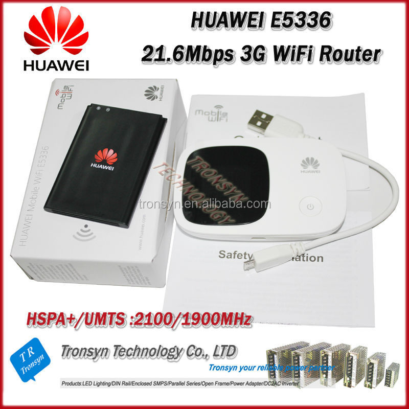 2014 New Arrival Original Unlock HSPA+21.6Mbps HUAWEI 3G Hotspot WiFi Router E5336 With LCD Display Screen