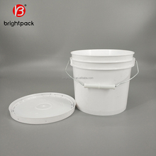 1L/1 gallon/ 5 gallon/20 liter/ 25L plastic bucket manufacturer, for packing paint/food/oil