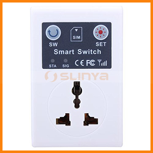 Universal Socket 110-220V Wireless GSM Remote Phone SMS Controlled Power Switch