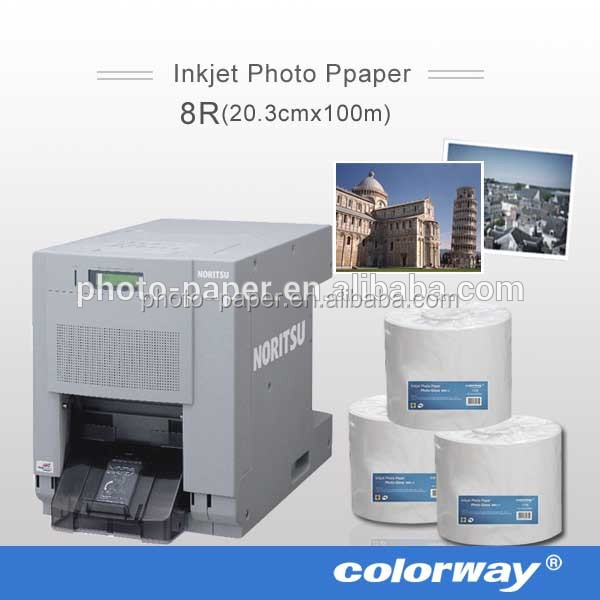 Fuji photo for dry minilab paper inkjet type