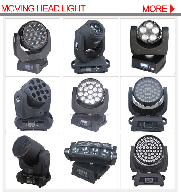 disco light high power 19*15w 4in1 rgbw dmx Zoom Wash beam led moving head