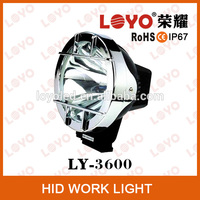 Auto Car Accessories 7 inch 35W /55W HID Xenon Driving Light Offroad HID Fog Lamp for SUV /4WD/Truck