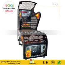 NQT-A06 coin operated double shot street basketball machine ticket arcade games for double players
