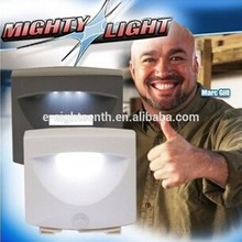 2016 popular 3 LED Activated Motion Sensor Indoor Outdoor Night light MIGHTY LIGHT