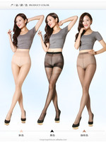 Sexy 3 denier spandex plain transparent tights for girls tights/pantyhose 6227