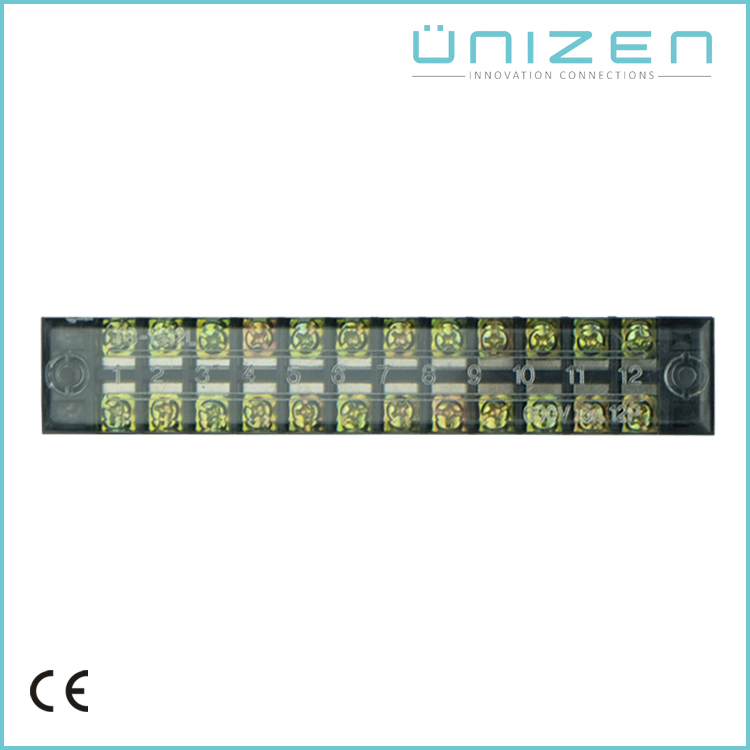 UNIZEN TB-1512L industrial distribution 12P screw terminal
