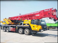 Sany truck mounted crane STC500 50 ton crane for sale