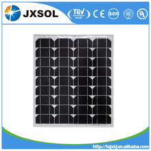 High quality A-grade cell high efficiency pv module, mono 50W solar panel price made in China