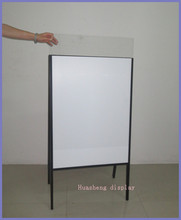 Outdoor poster display stand H27