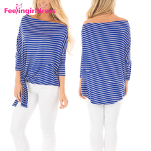 Autumn New Style Off The Shoulder Designs Chiffon Ladies Long Sleeve Women Blouse 2016