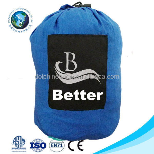 Huge Outdoor Compact 9X7ft Parachute Nylon Beach Blanket Mat Bag With LOGO Custom Blue Color Foldable Picnic Mat