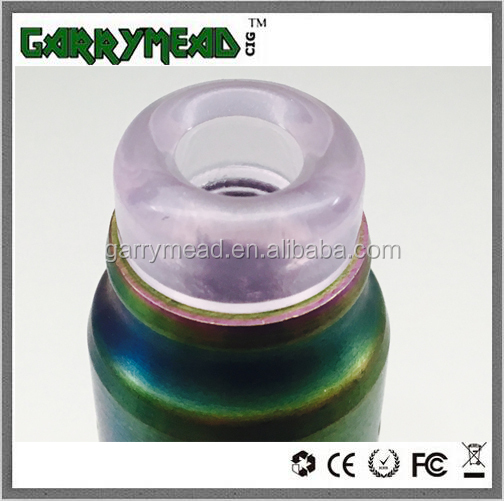 New design Great quality jade 510 810 drip tip e-cigarettes jade drip tip wide bore drip tip resin drip tip wiht al kinds of col