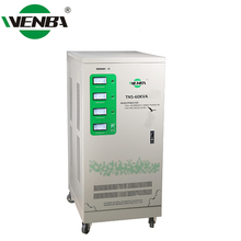 3 Phase High Precision AC Efficiency >95% 60KVA Whole House Voltage Stabilizer