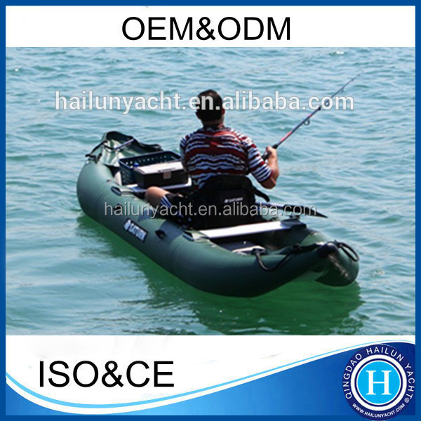 Drop stitch air floor inflatable fishing kayak 11ft/330cm foldable kayak