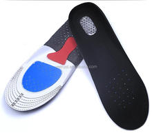 Cut To Size Shoe Insoles Men Women Elastic GEL Shock Absorption Insoles Sweat Absorbing Protect EVA Shoe Insoles