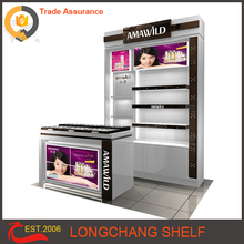 Factory supply cosmetic display rack boutique display stand