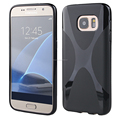 good quality X line tpu case for Samsung galaxy S7