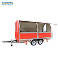 High Quality Eco-Friendly Simple Mobile Hot Dog Cart/mobile fast food cart for sale